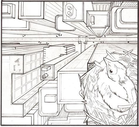 bird s eye view sketch of indoor outdoor house interior design ideas ms walker s art info one point perspective project