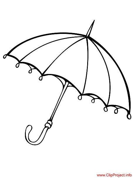 umbrella coloring pages printable umbrella image to color