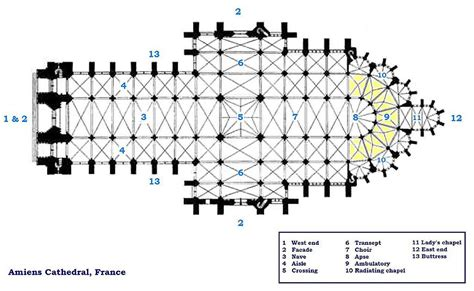 reims cathedral floor plan file amiens cathedral floorplan jpg wikimedia commons