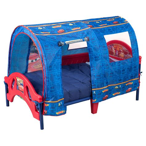 delta childrens bed delta children disney pixar cars tent toddler canopy bed
