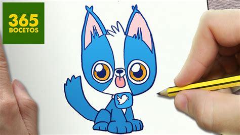 imagenes de animales kawaii 365bocetos como dibujar perro twitter kawaii paso a paso dibujos