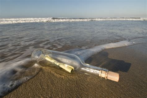 message in a bottle message vessels and journeys