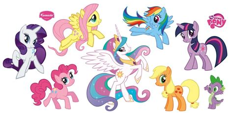My Little Pony Wall Stickers my little pony theme party planning ideas and supplies