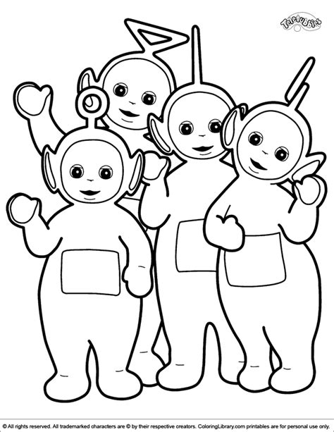 teletubbies coloring pages teletubbies coloring pages to print coloring home