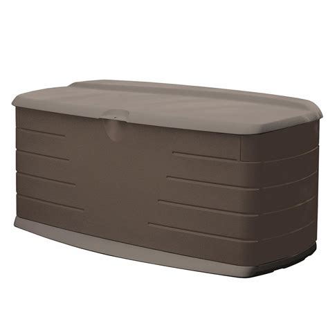 rubbermaid deck box with seat rubbermaid 90 gal large resin deck box with seat green