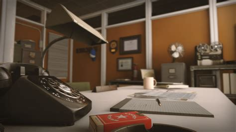 retro office environment by clinton crumpler in