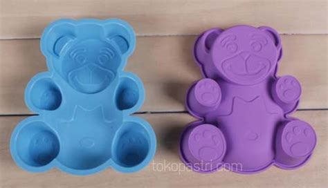 Cetakan Bentuk Beruang pin cetakan es batu puding dapur supplier on
