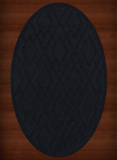 black oval rug payless troy tr1 111 black oval rug