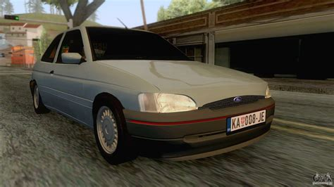 how to learn about cars 2004 ford escort regenerative braking ford escort mk6 2004 для gta san andreas