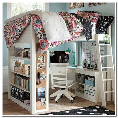 kid bunk bed with desk underneath bed design workstation loft bed with desk
