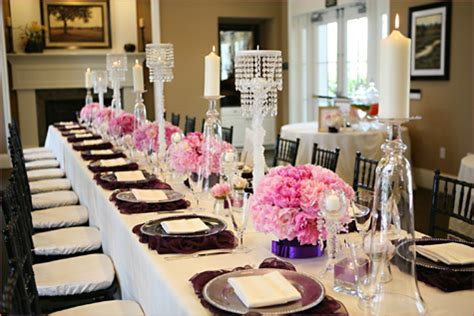 Bridal Shower Table by Bridal Shower Concepts As Seen On Hostess With The Mostess