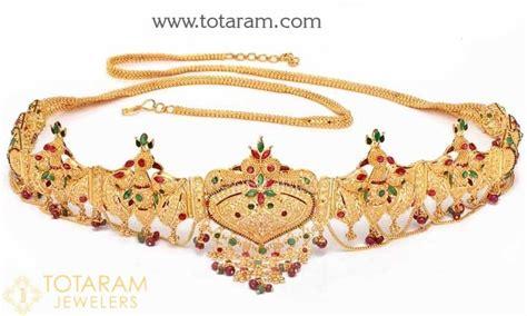 Gelang Rantai 75 3 050 Gram 22k gold vaddanams oddiyanams kammar patta waist belts indian gold jewelry from totaram