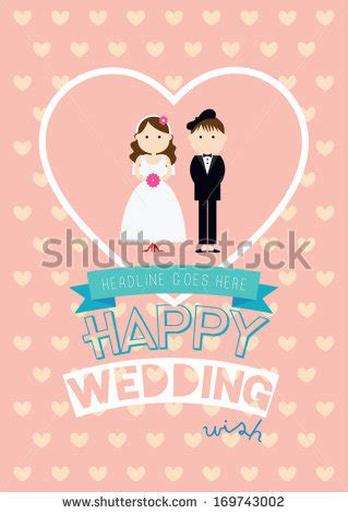 happy wedding card template stock images royalty free images vectors