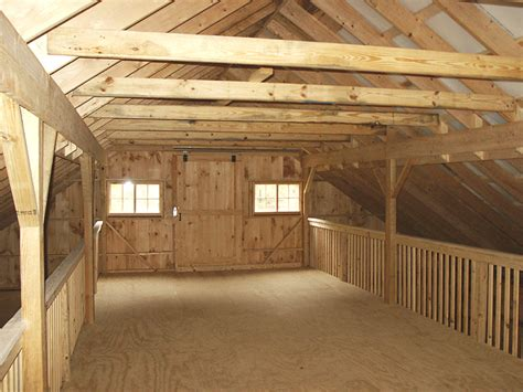 Open Floor Plans With Loft by Barn Loft Construction Building Garage Loft