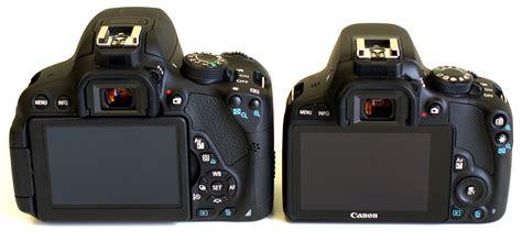 Canon Eos 700d Vs 600d canon eos 100d vs 700d dslr comparison