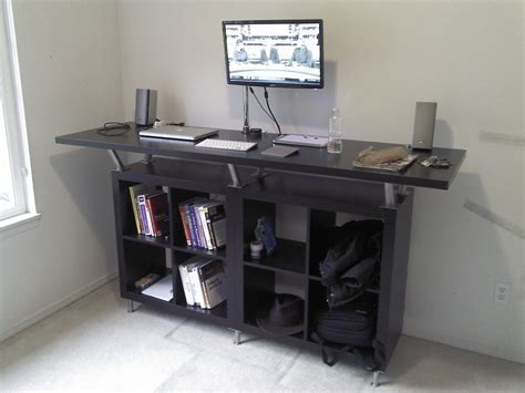 Standing Computer Desk Ikea Ikea Standing Desk To Decorate Your Interior Home