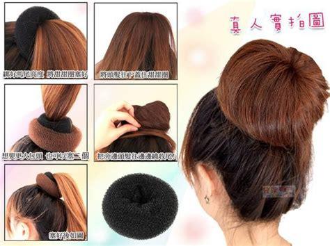 hair danze standard diy long hair twister bun former hair donut ring maker