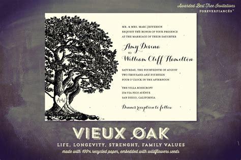 Oak Tree Wedding Invitations