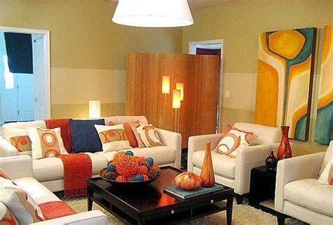 orange and white living room ideas 35 modern living room decorating ideas with accent pillows