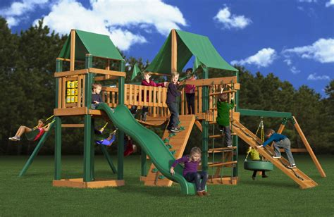 gorilla swing set clearance lowest price gorilla pioneer peak playset swingset paradise