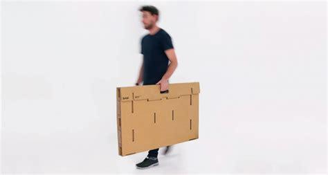 portable standing desk kickstarter kickstarter refold the portable cardboard standing desk