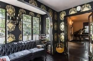 Kelly Wearstler Bedroom kat von d sells her luxury gothic villa in hollywood