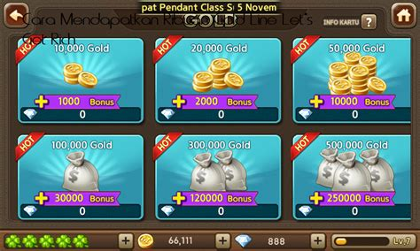 cara mod game lets get rich cara mendapatkan ribuan gold line let s get rich canufa