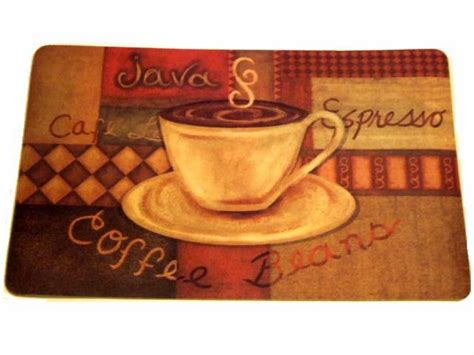 coffee cup kitchen rugs coffee themed kitchen rug espresso latte cushion mat
