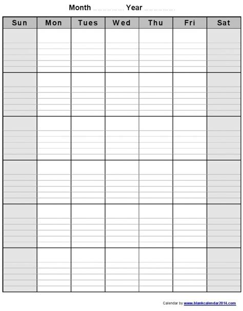 printable monthly lined calendar 2016 printeable lined monthly calendar calendar template 2018