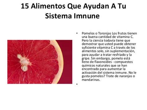 alimentos para el sistema inmunologico 15 alimentos que ayudan a tu sistema inmune
