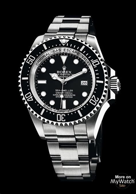 rolex deepsea oyster perpetual 116660 acier titane bracelet acier