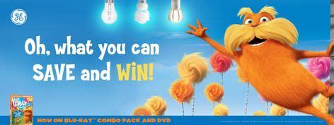 Ge Sweepstakes - ge lighting launches sweepstakes for blu ray and dvd release of dr seuss the lorax