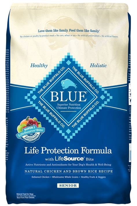 blue buffalo senior food blue buffalo protection formula senior chicken