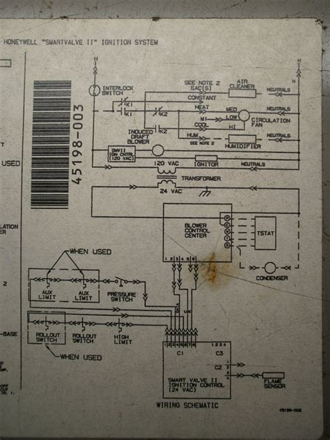 furnace control board no lights honeywell st9120c4057 wiring diagram 36 wiring diagram
