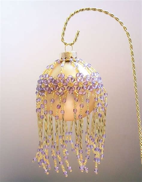 free beaded ornament cover patterns beaded ornaments made and ornaments on