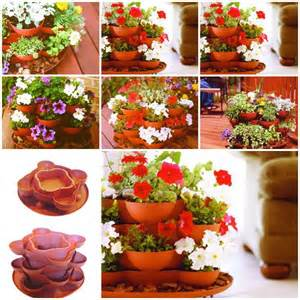 terracotta stack and grow garden planter usefuldiycom