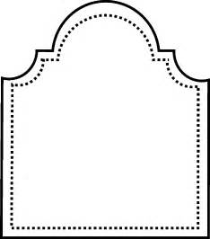 Tombstone Template by Gravestone Template Clipart Best