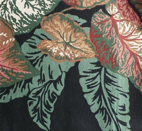 vintage pattern upholstery fabric vintage fabric sles barkcloth designer by dairyfarmantiques
