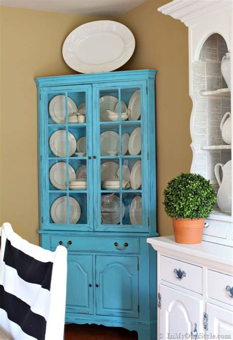 Chalk Paint Furniture Diy by Before And After Furniture Makeover In Turquoise