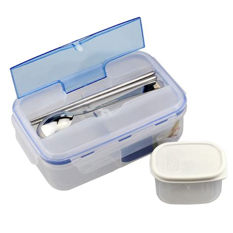 Sale Box Bento Sekat 5 Tutup aliexpress buy sale 1000ml durable lunch box food container eco friendly portable