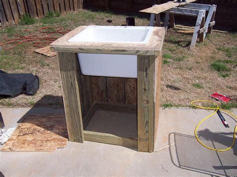 outdoor garden sink for the home