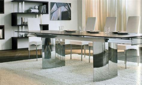 esstisch modern design moderner esstisch aus holz glas und metall 15 designs