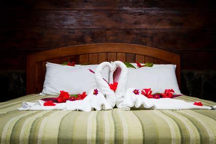 bettdecke falten hotel une chambre feng shui d amour
