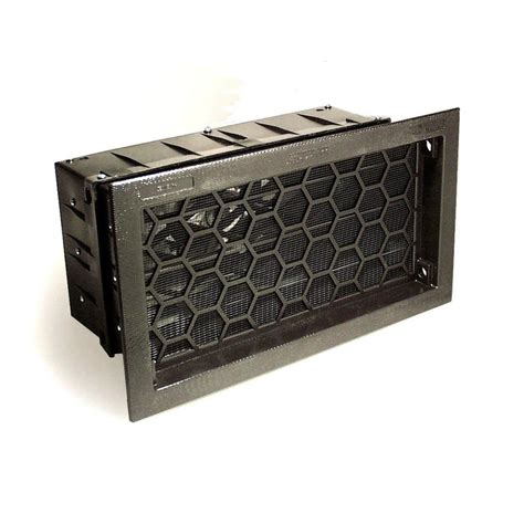 Decorative Foundation Vents by Shop Air Vent 17 75 In X 10 In Plastic Foundation Vent At