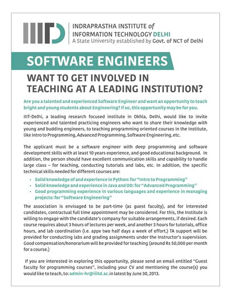 As A Software Engineer Should I Get An Mba software engineers want to get involved in education at