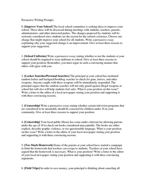 6th Grade Persuasive Essay Topics by Censorship Persuasive Essay Social Psychologist Cover Letter
