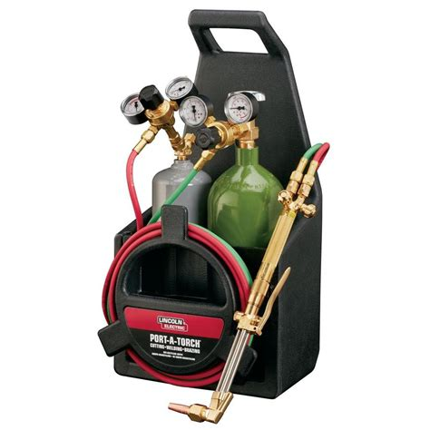 lincoln electric port  torch kit kh  home depot