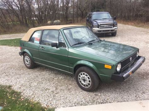volkswagen rabbit convertible for sale 1981 volkswagen rabbit convertible for sale volkswagen