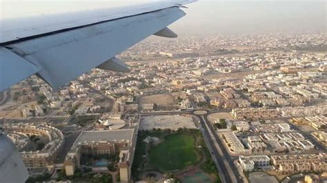 emirates heathrow to dubai emirates airline boeing 777 landing at dubai