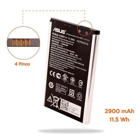 Backdoor Asus Zenfone 4s Original bateria 2900 mah c11p1501 asus zenfone 2 laser ze550kl r